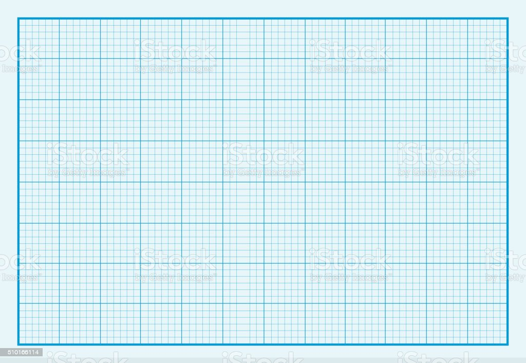 Graph Paper Background Design Flat vector art illustration