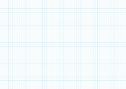 Graph paper background vector blue plotting millimeter drawing ruler line guide