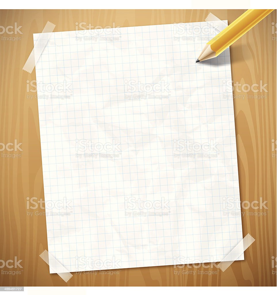 Graph Paper Background royalty-free stock vector art