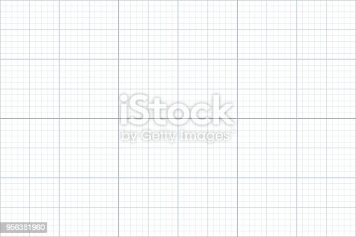 graph paper. seamless pattern. architect background. grey millimeter grid. vector illustration