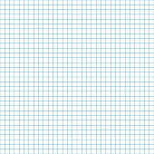 Blank grid or sheet of graph paper for back to school