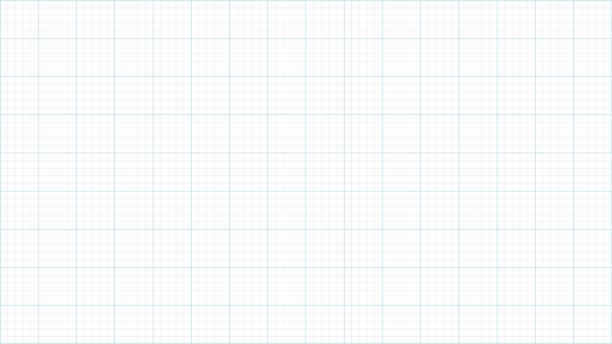 Graph paper vector art illustration