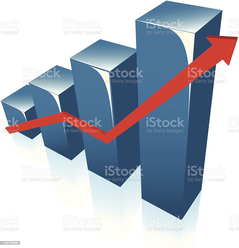 graph royalty-free graph stock vector art & more images of achievement