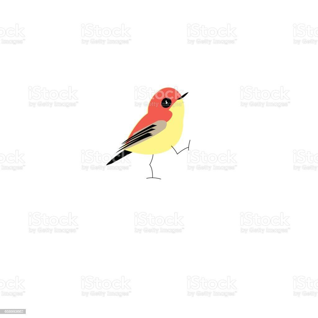 Graphic bright vector bird royalty-free graphic bright vector bird stock vector art & more images of animal