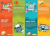Graphic Design , Copywriting, Responsive Webdesign and Freeance Concept