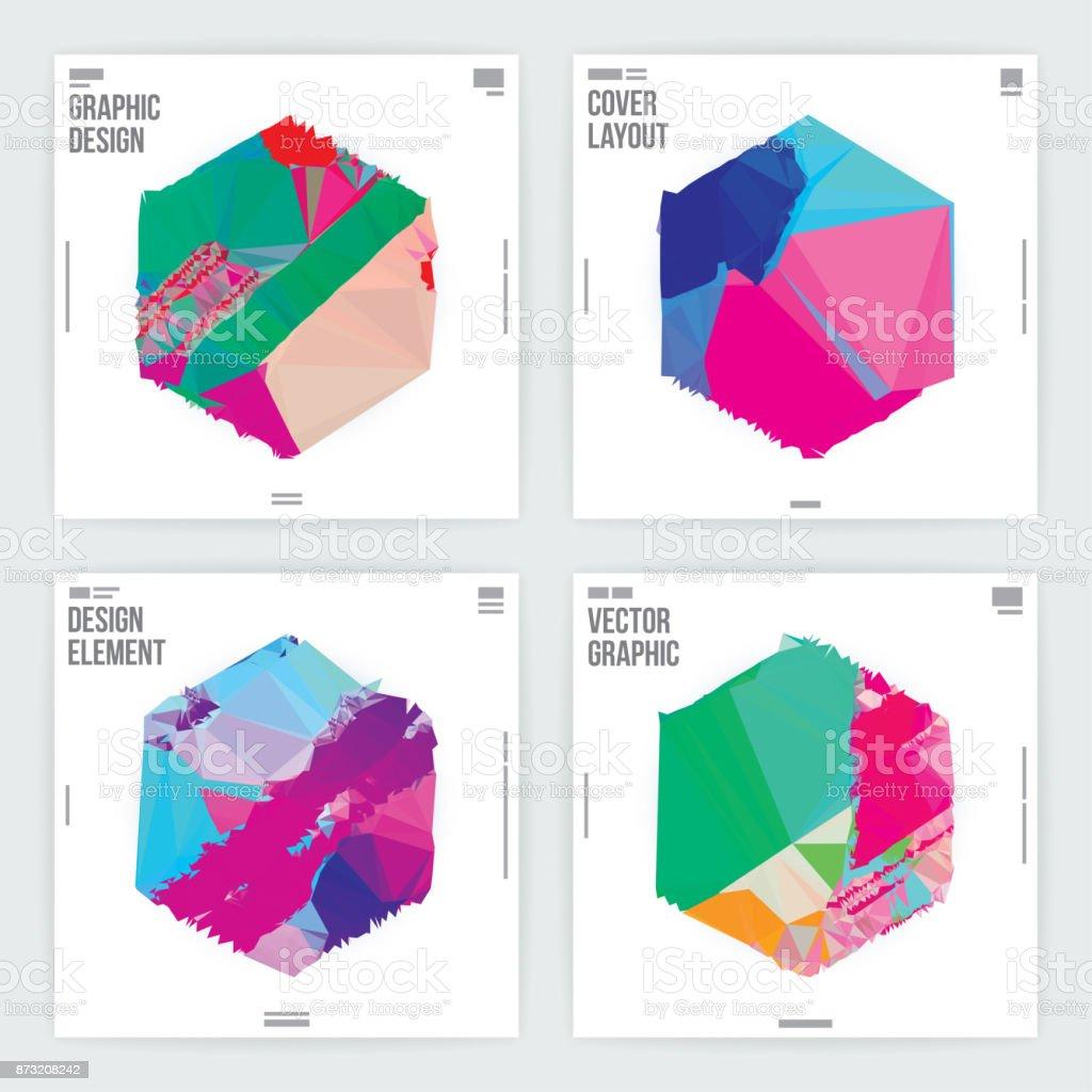 9 Home Decor Trends To Follow In 2019: 그래픽 디자인 포스터 템플릿 최소한의 추상 미래 배경 개념 기호에 대한 스톡 벡터 아트 및 기타 이미지