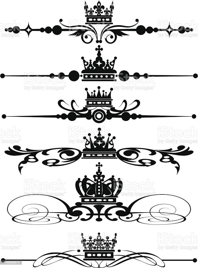 graphic design, set, 9 royalty-free stock vector art