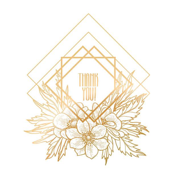 graphic design with floral vignette - boho stock-grafiken, -clipart, -cartoons und -symbole