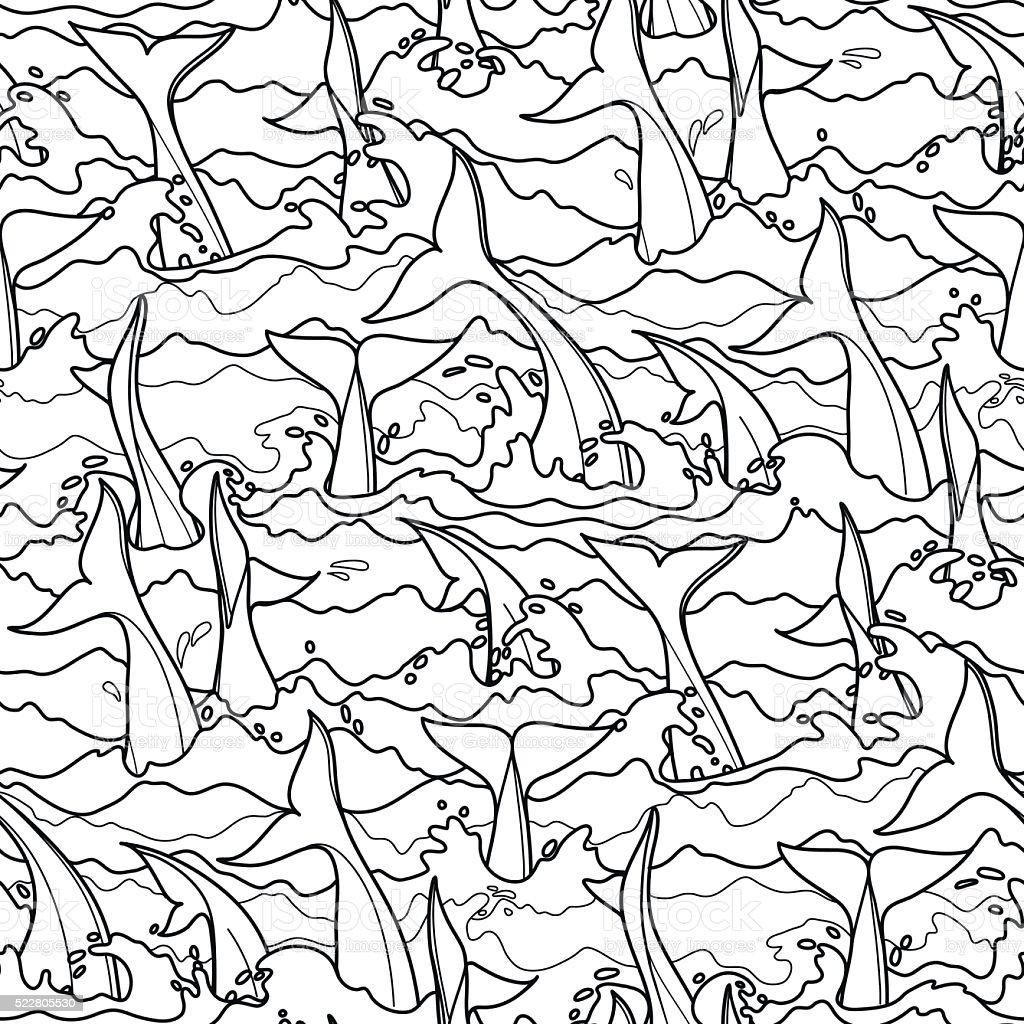 Stampa Con Motivo A Delfini Immagini Vettoriali Stock E Altre