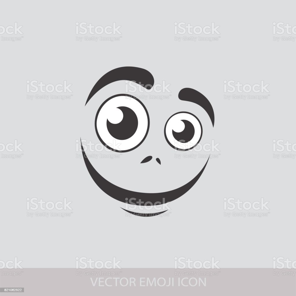 Graphic Emoticon Collection Of Emoji Smile Icons Isolated