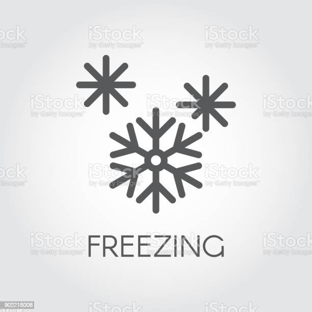 Paling Keren Logo Stiker Frozen Food