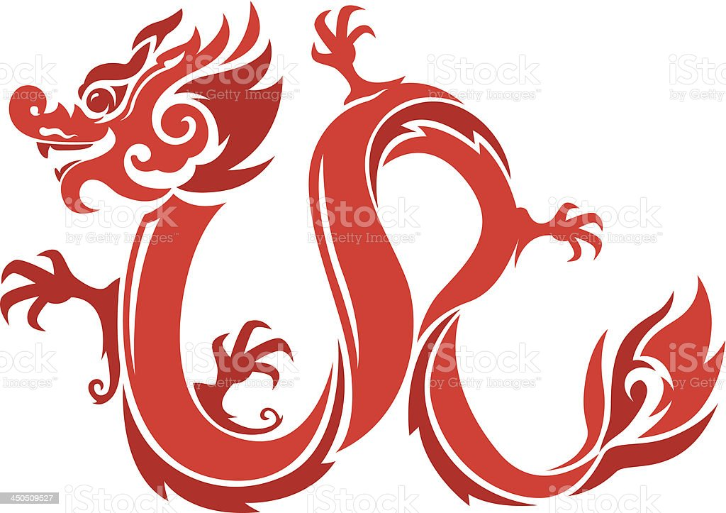 royalty free chinese dragon vector clip art vector images rh istockphoto com chinese dragon clipart images chinese dragon head clipart