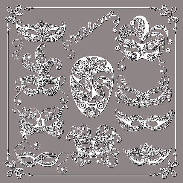 Best Masquerade Ball Illustrations, Royalty-Free Vector