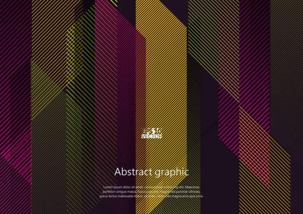 幾何圖案的圖示。eps10 向量圖。 - 長方形 幅插畫檔、美工圖案、卡通及圖標