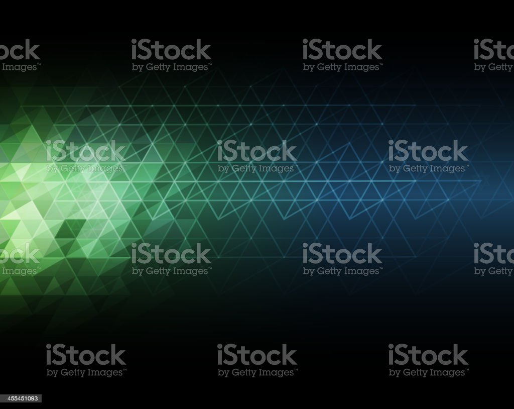 Graphic image of multicolored mosaic background vector art illustration