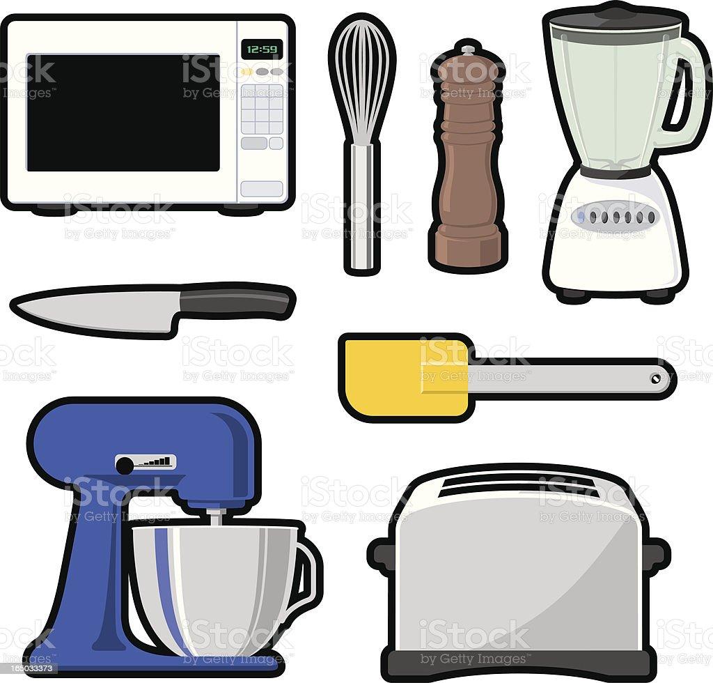 Grafica Oggetti Di Cucina Set Vettoriale 2 Jpg - Immagini vettoriali ...