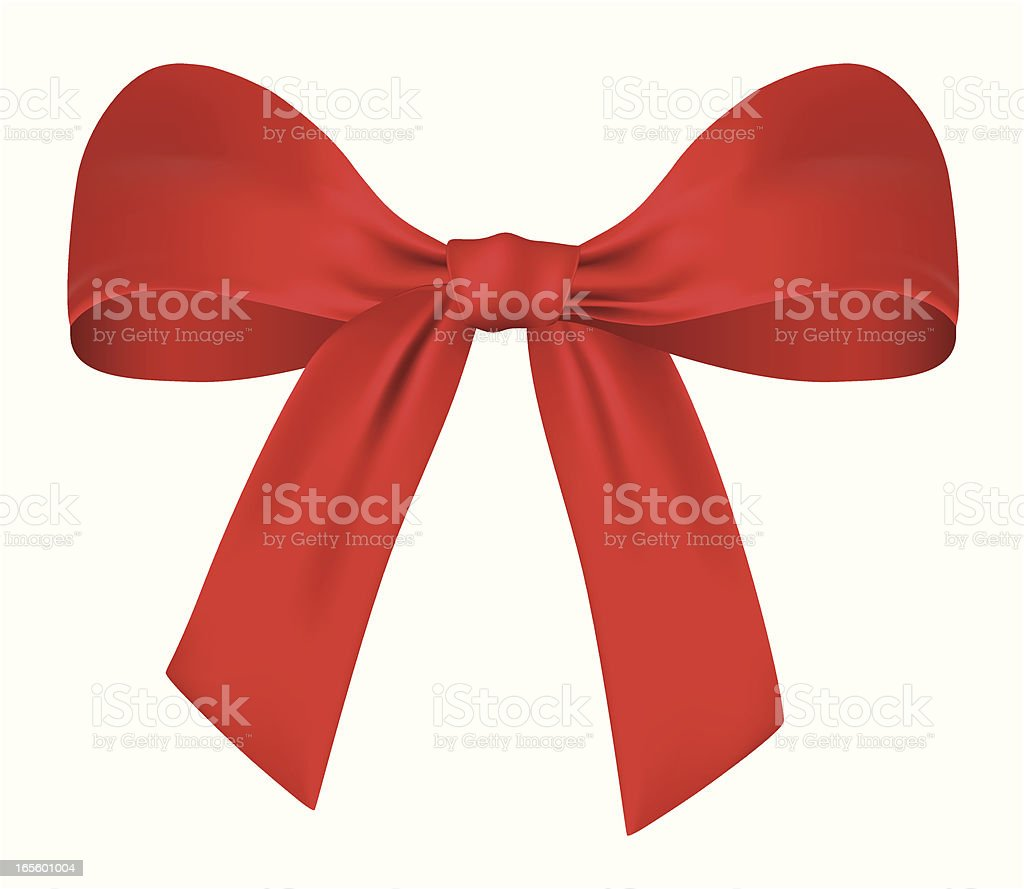 Graphic of a red bow on white background royalty-free graphic of a red bow on white background stock vector art & more images of celebration
