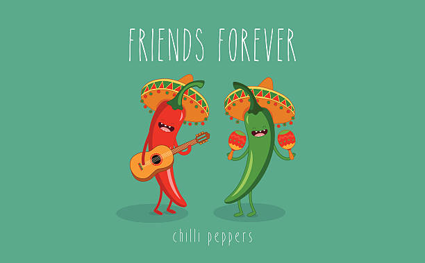 chili peppers - chilli stock-grafiken, -clipart, -cartoons und -symbole