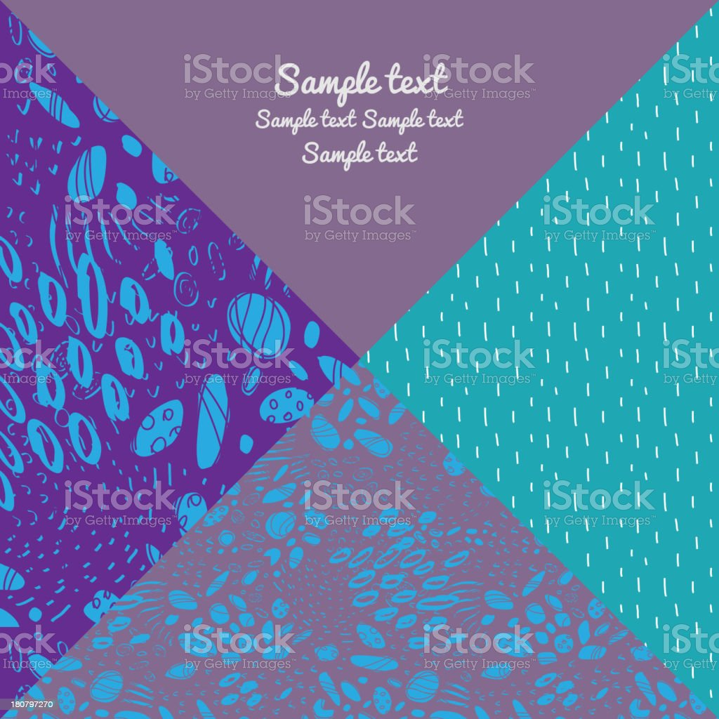 Graphic pattern royalty-free stock vector art