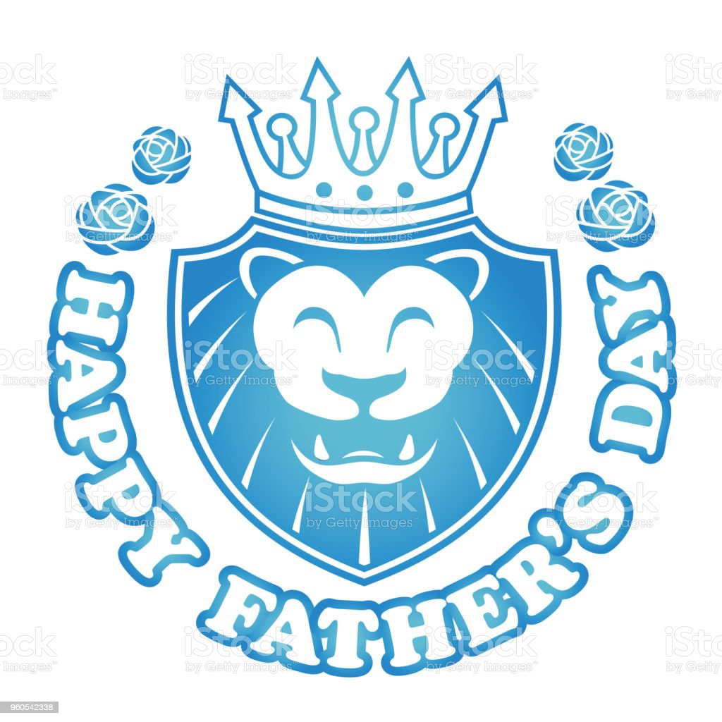 Graphic Symbol For Happy Fathers Day Stock Vector Art More Images
