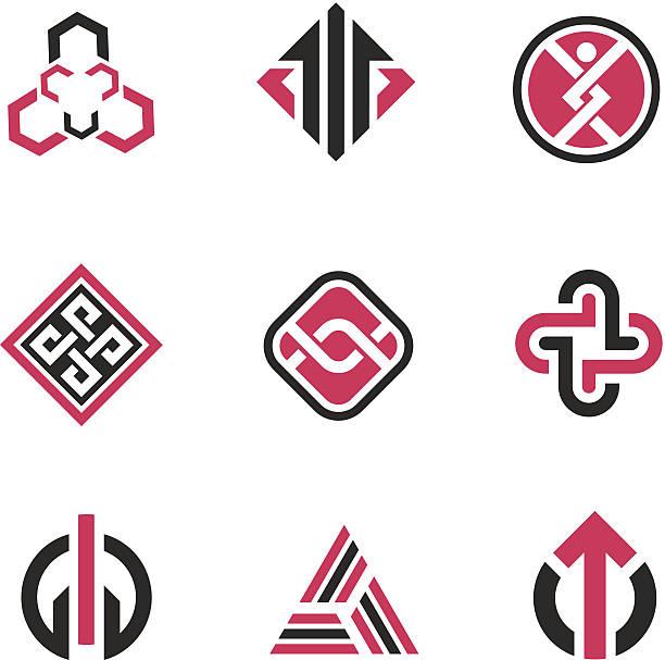 Image concept de symboles et de la technologie - Illustration vectorielle