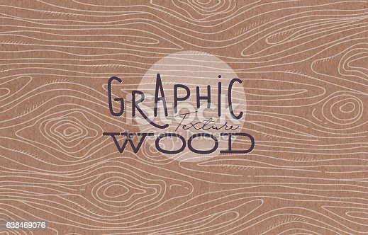 istock Graphic wood texture brown 638469076