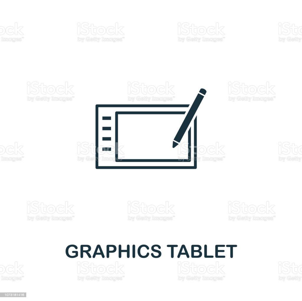 Icône De Tablette Graphique Design Premium Style De La