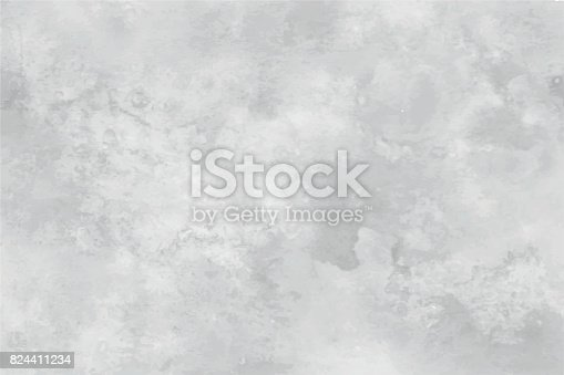istock graseby watercolor abstract background. In shades of grey with the effect of marbling 824411234