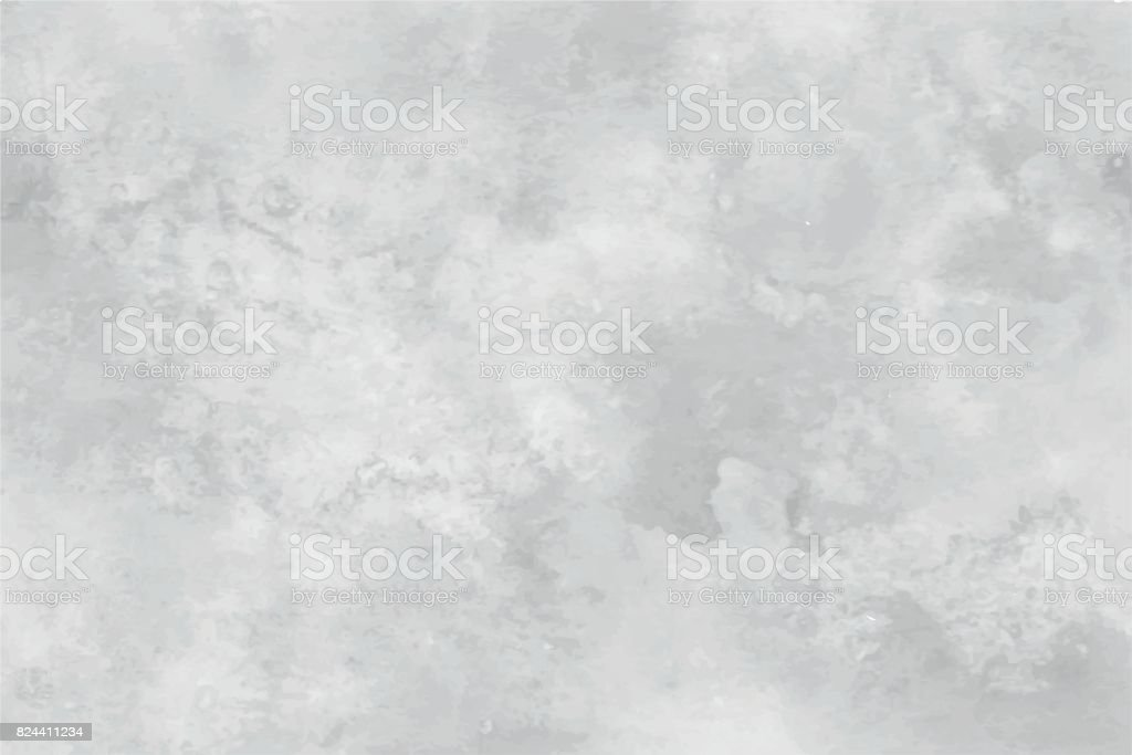 graseby watercolor abstract background. In shades of grey with the effect of marbling vector art illustration
