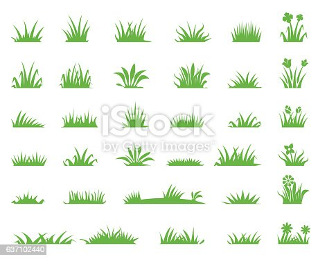 Grass icons
