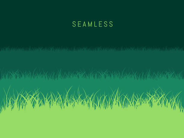 草の芝生の背景 - 草原点のイラスト素材/クリップアート素材/マンガ素材/アイコン素材