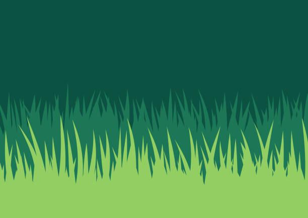 Grass Lawn Background Grass lawn background concept. grass area stock illustrations