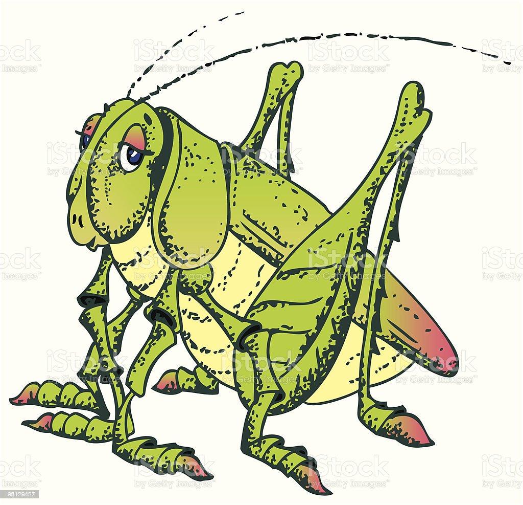 grasshopper royalty-free grasshopper stock vector art & more images of color image
