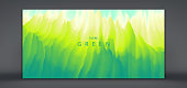 Grassland background. Vector illustration of a green grass.