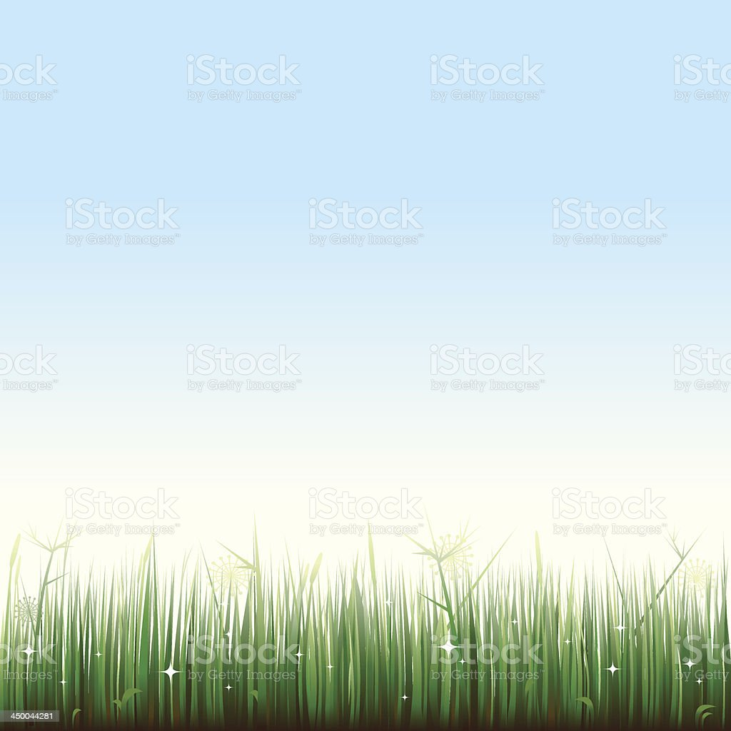 grassy landscape royalty-free stock vector art