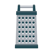 istock Grater Icon on Transparent Background 1283419938
