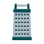 istock Grater Icon on Transparent Background 1283429674