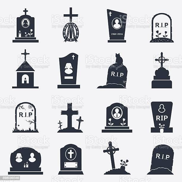 Grave icons set vector id598099346?b=1&k=6&m=598099346&s=612x612&h=hd9ae1kneg2am8jteb 0xsdmtnpkm6drmlkwrru2apo=