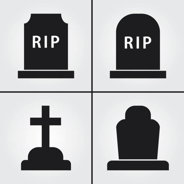 stockillustraties, clipart, cartoons en iconen met grote pictogrammen - funeral crying