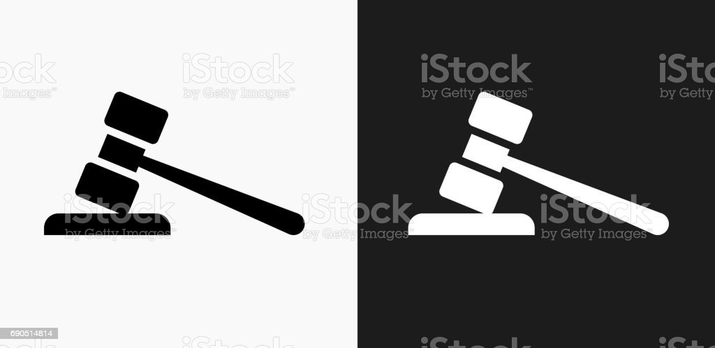 Gravel Icon on Black and White Vector Backgrounds vector art illustration