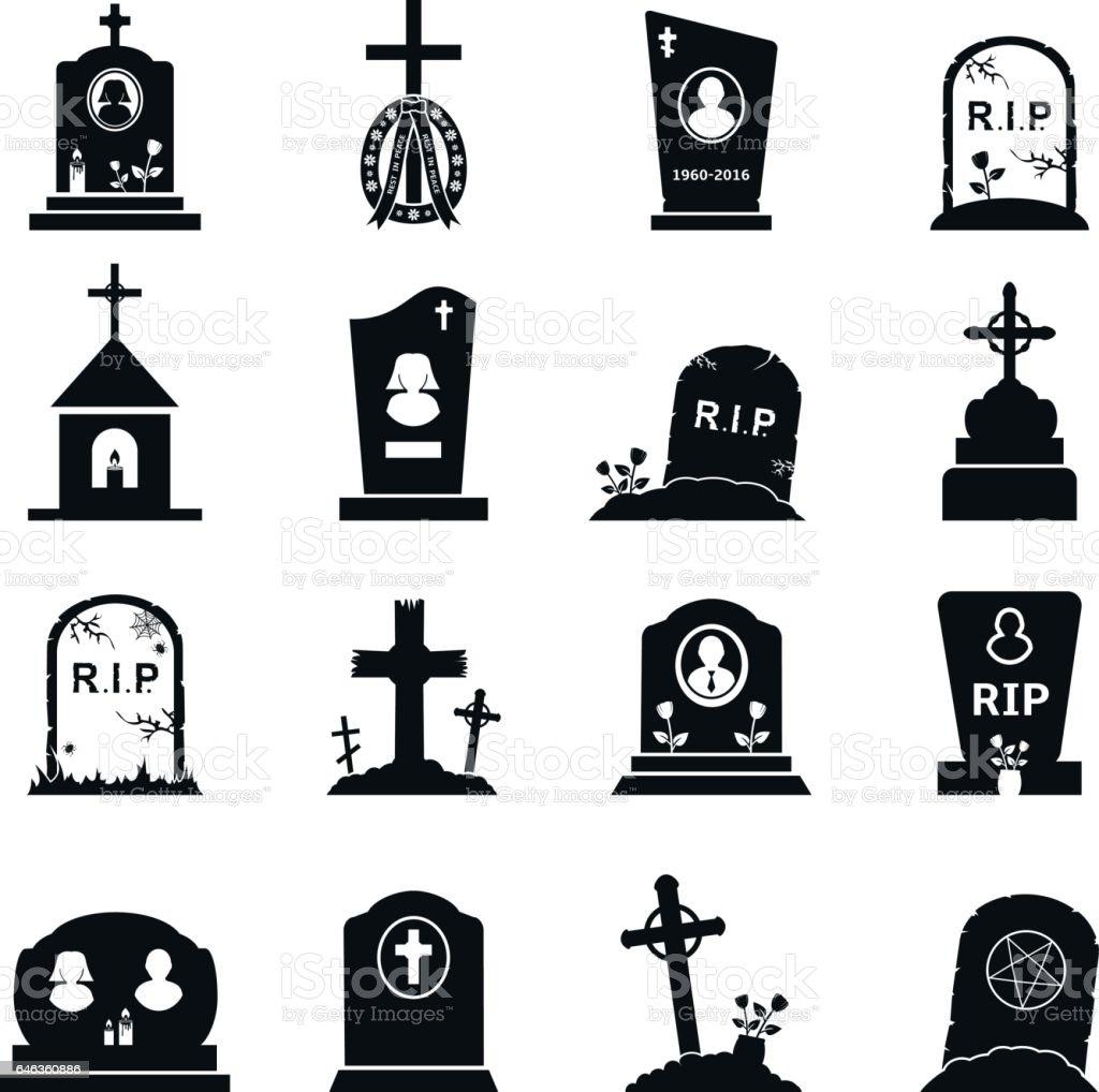 royalty free tombstone clip art vector images illustrations istock rh istockphoto com rip tombstone clipart tombstone clipart free