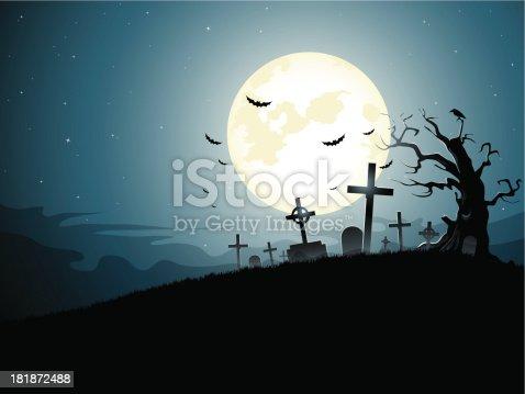 istock Graveyard 181872488