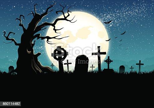 istock Graveyard 850114482