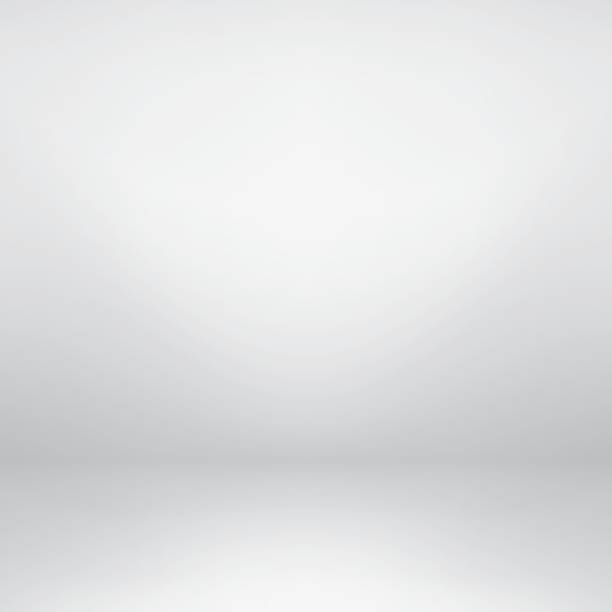 Gray abstract backgriund. Empty white studio background. Gray gradient design. white background stock illustrations