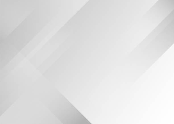 illustrazioni stock, clip art, cartoni animati e icone di tendenza di gray abstract minimal concept vector illustration design sottile sfondo - sfondi