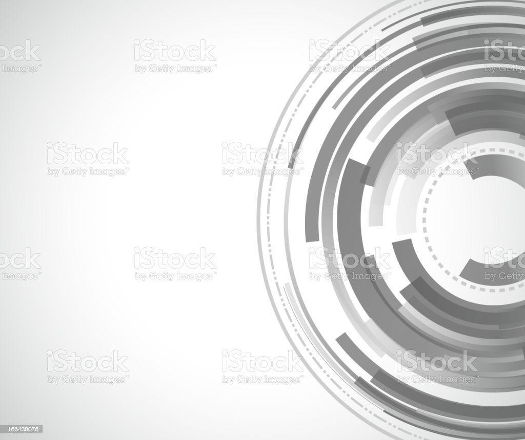 gray abstract ring background royalty-free stock vector art