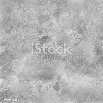 Gray and White Concrete Abstract Wall Texture. Grunge Vector Background. Full Frame Cement Surface Grunge Texture Background