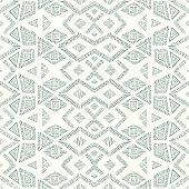 Gray and white geometric pattern. Seamless background.