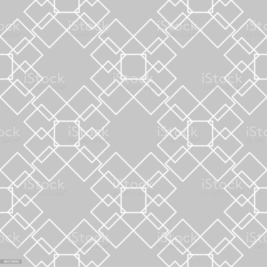 Gray and white geometric seamless pattern royalty-free gray and white geometric seamless pattern stock vector art & more images of abstract