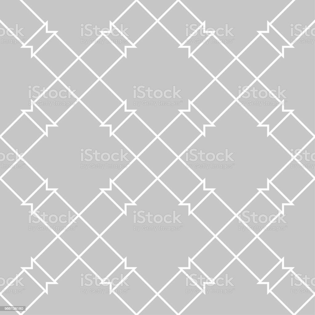 Grå och vit geometriska sömlösa mönster - Royaltyfri Abstrakt vektorgrafik
